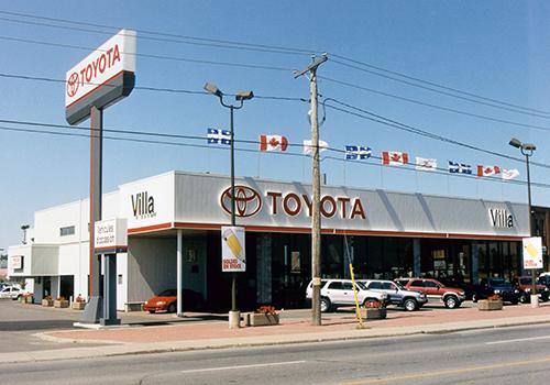 2003 – Villa Toyota, Gatineau