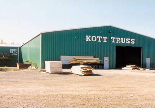1999 – Kott Lumber Truss Shop