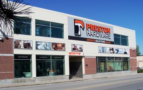 2006 – Preston Hardware – Retail Store