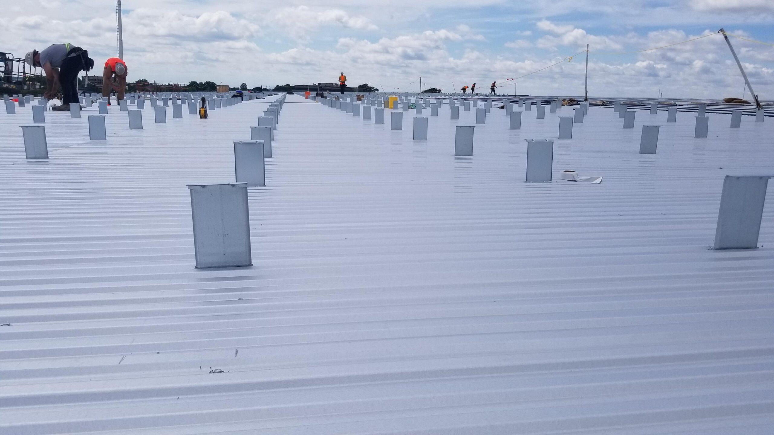 BBS Erectors Roof Install