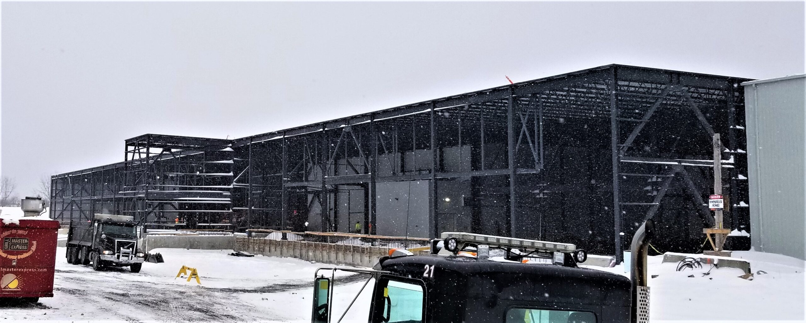 Sysco Facility Expansion Timelapse