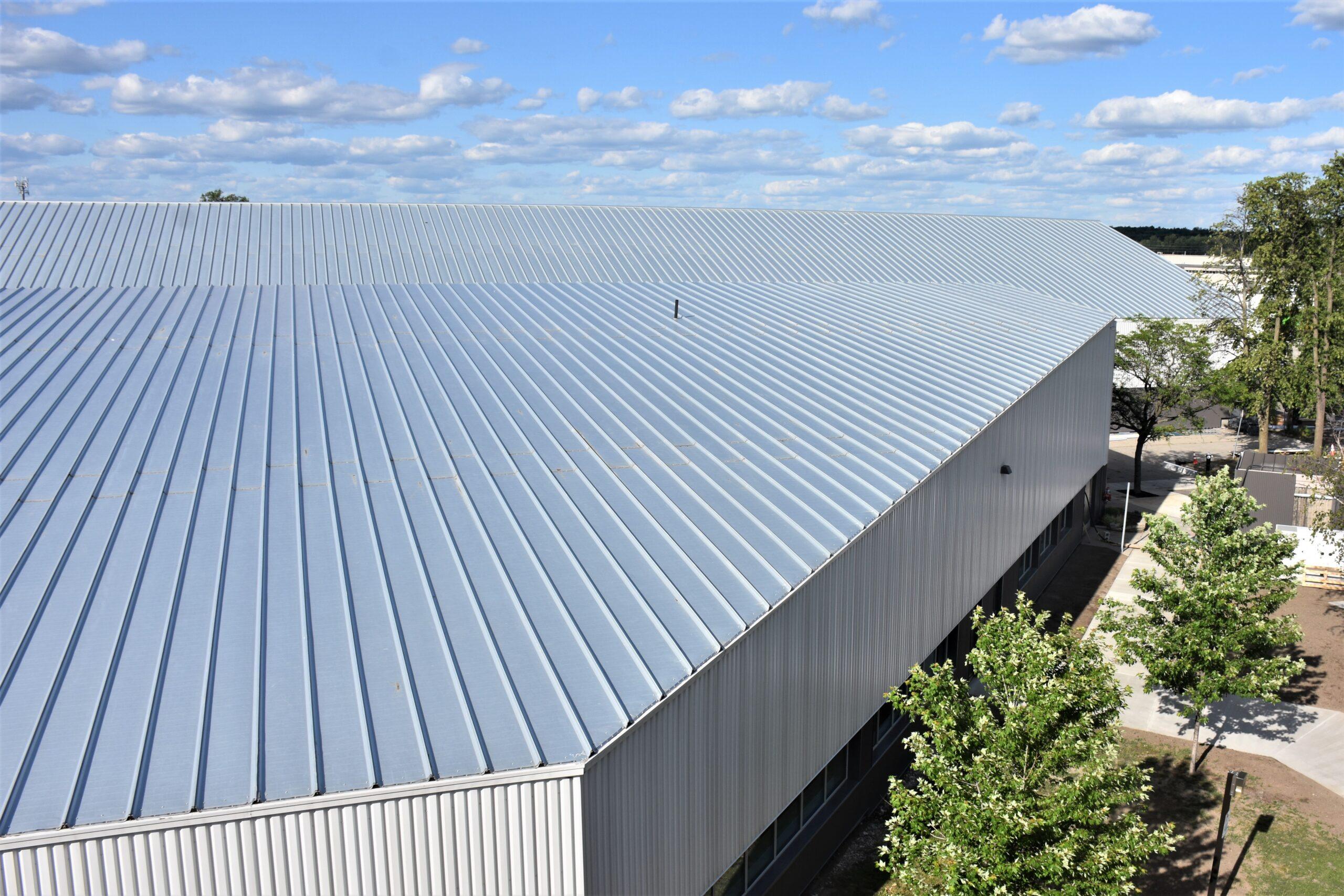 BBS' Metal over Metal Re-Roof @ OAC